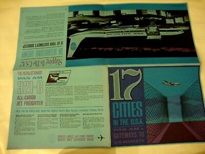 PAN AM GATEWAYS TO THE U.S.A THERESHOLDS TO A WORLD OF MARKETS  sales brochure