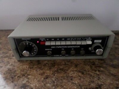 Global Specialties Corporation 2001 Function Generator *Pulled from working Area