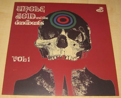 UNCLE ACID and the Deadbeats - Vol 1 red Vinyl LP Black Sabbath Electric Wizard