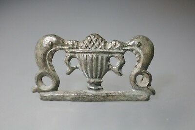 Ancient Fantastic Roman Bronze Fibula Brooch Amphora 1st - 4th AD