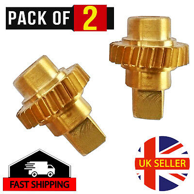 Vauxhall//Opel Astra Twin Top Roof Motor Winglet Cogs//Gears 93188313//14 Brass CNC