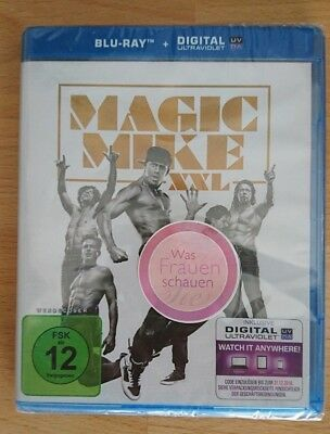 Channing Tatum Magic Mike XXL, blu-ray, neu & ovp, Was Frauen schauen, 115 Min.