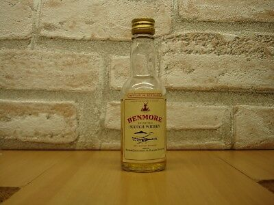 mignonnette de whisky   BENMORE   SELECTED  SCOTCH  WHISKY