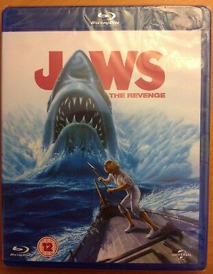 JAWS THE REVENGE (Blu-ray) *NEW/SEALED* Michael Caine