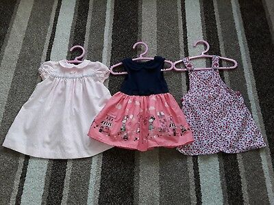 20Gg Baby Girls 9-12 Months Clothing Bundle Of Summer Dresses