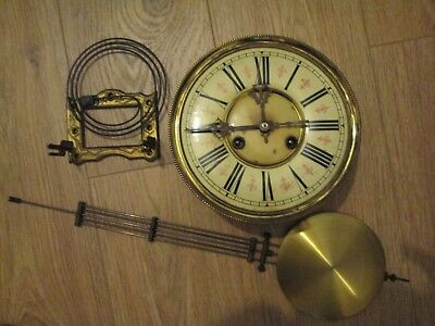Large Vienna Spring Driven Striking Wall Clock Movement