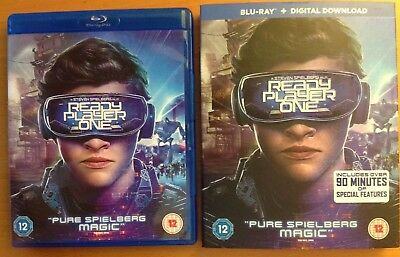 READY PLAYER ONE (Blu-ray) + SLIPCOVER + UV Digital Download. Steven Spielberg