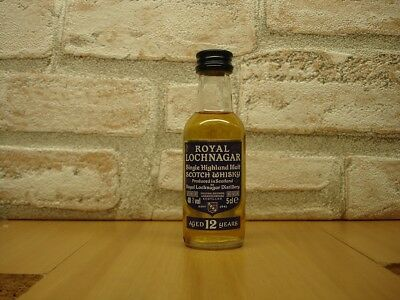 mignonnette de whisky  ROYAL LOCHNAGAR  Single Highland Malt   12 years