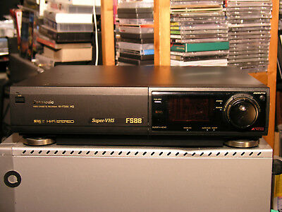 Panasonic S-VHS/VHS Videorecorder NV-FS88 Pal +NTSC Playback 6 Head FB(High End)