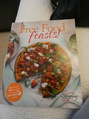 Slimming World Recipe Book - Free Food Feasts - Used but in great condition