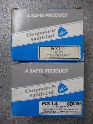Chapman and Smith Ltd, Safir Filters and pre filters. New