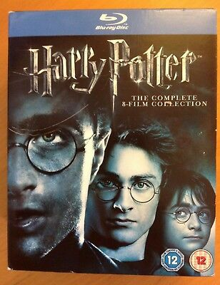 HARRY POTTER Complete 8-Film Collection (11-Disc Blu-ray) BOX SET