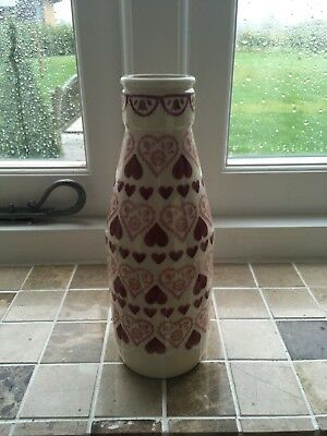 Emma Bridgewater Sampler Large Milk Bottle First No chips/cracks/Crazing
