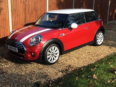 Mini Cooper 2016 blazing red 3dr