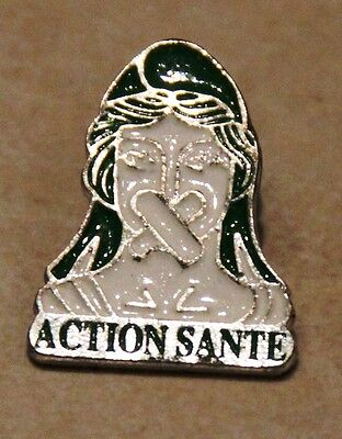 Pin's Action Sante