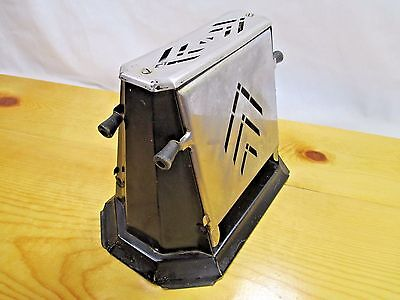 Vintage Samson 115V Made in the USA Decorative Sideloading Toaster