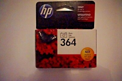 Original HP 364 Ink Cartridge Photo Black - new but out-of-date