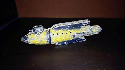 Antikes Raumschiff  Buck Rogers - ORGINAL extrem selten, 1935 - Spacetoys - Ufo