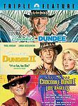 Crocodile Dundee Triple Feature (DVD, 2007, 3-Disc Set) THREE MOVIES!