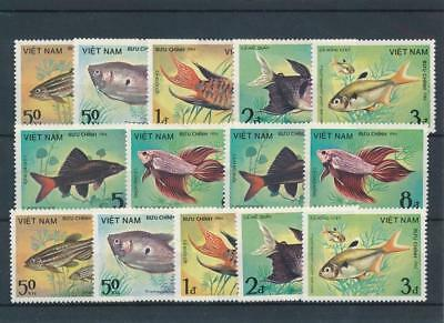 [109927] Vietnam 1984 Fishes good Set very fine MNH Stamps