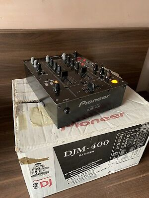 Pioneer DJM-400 Professional 2-Channel DJ Mixer With Built-in FX- Boxed