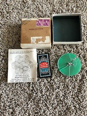 Vintage Palmloom Handheld Loom Tool With Instructions In Box Needles