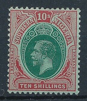 [38384] Southern Nigeria 1912 Good stamp Very Fine MH Value $80
