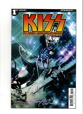 Kiss Blood And Stardust 1 Sayger Variant Cover D Signed By Artist Stuart Sayger