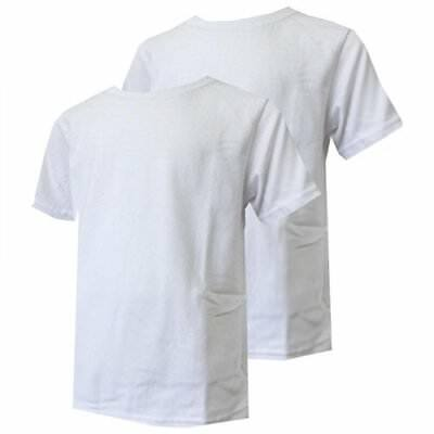 Plain White Childrens Kids Boys Girls Childs Cotton lot T-Shirt Tshirt Age 3-14