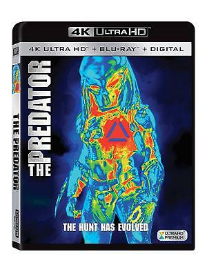 The Predator (4K UHD + Blu-ray + Digital,) 2018 w/ SLIP COVER **FREE SHIPPING**