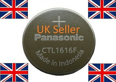 CTL1616 - CASIO G-Shock Solar Rechargeable Watch Battery Panasonic CTL1616F