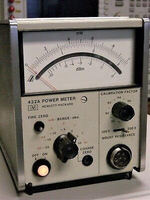 HP 432A Power Meter (Tested & Working Correctly)