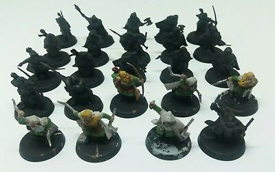 games workshop  Lord of the rings 24 plastic dwarf rangers