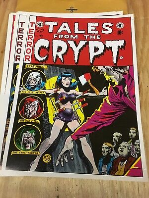 Tales from the Crypt Vault Horror Weird Science Fantasy re print lot 14 pcs.