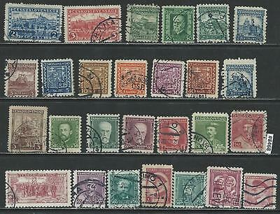 #8468 CZECHOSLOVAKIA Lot of Early Issues Used Combine Shipping