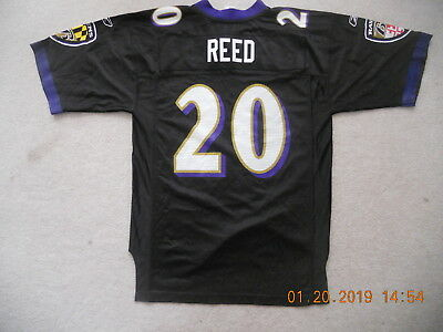 info for fb720 3e340 BALTIMORE RAVENS ED REED NFL Reebok On Field Jersey Stitched ...