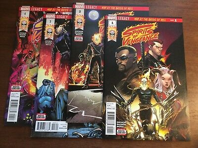 Spirits of Vengeance 1-4 Marvel Comics 2017 War at the Gates of Hell 1 2 3 4