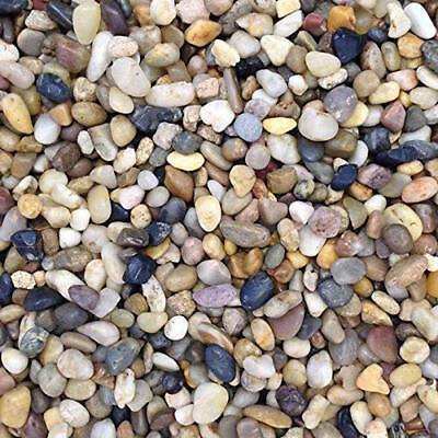 Fish Tank Aquarium Natural Pea Gravel Stones Substrate 10 mm Top quality
