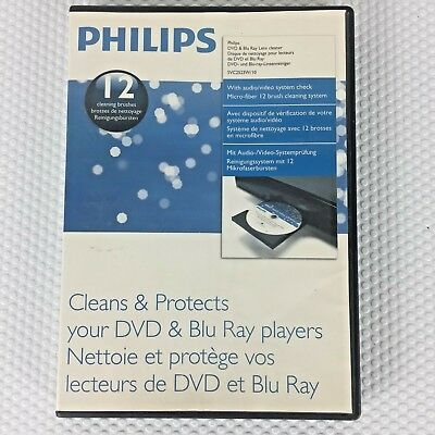 Philips DVD & Blu Ray Lens Cleaner SVC2523W/10