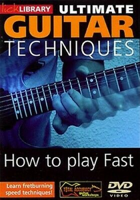 Ultimate Guitar Techniques: How to Play Fast DVD (2006) Dave Kilminster