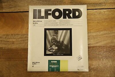 Ilford 8X10 Multigrade FB Classic Paper Matte Finish 25 Sheets. Expired-Unopened