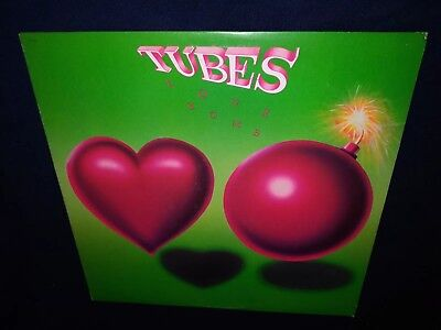 Tubes, Love Bomb, 1985 VINYL LP (EX play tested) cover VG+ / NEW WAVE