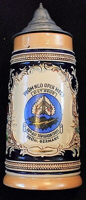 Genuine Prum Germany NCO Open Mess 86th Air Division (DEF) Stein
