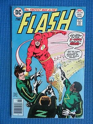 The Flash #  245 - (Vf-) - The Zing In The Flash