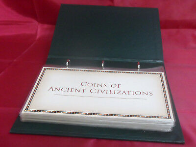 Coins of Ancient Civilizations Postal Commemorative Society - 10 Coins & Pages