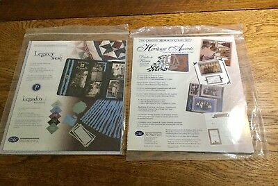 Creative Memories Heritage Accents & Legacy Short Cuts New! $2 shipping