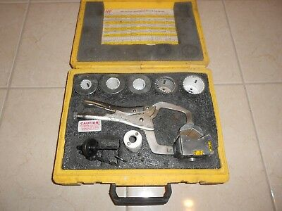 Nfp Pilot Clamp Fp-200 Hole Saw Guide Fire Sprinkler Tool