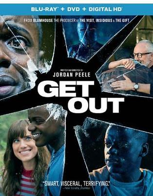 Get Out (Blu-ray/DVD, 2017, 2-Disc Set) - Sealed**