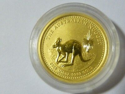 2005 Australian Gold Nugget Coin $15 dollar Plus 4 Natural Gold Nuggets