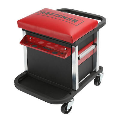 Craftsman Garage Glider Rolling Tool Chest Seat (Tools Not Included)